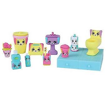Shopkins Happy Places Decorator Pack Puppy Parlour With 12 pieces of furniture