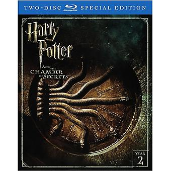 Harry Potter & de Chamber of Secrets [Blu-ray] USA import