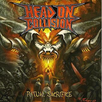Hoved på kollision - Ritual offer [CD] USA importerer