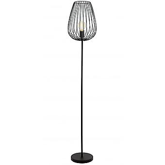 Eglo Newtown Black Floor Lamp