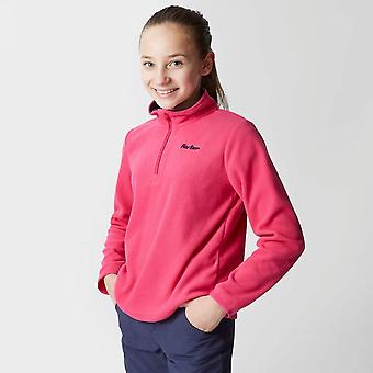 Peter Storm Girl's Coniston 2 Half Zip Fleece Pink