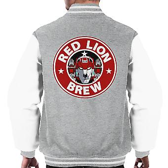 Voltron Red Lion Brew Coffee Men's Varsity Jacket