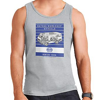 Haynes Workshop Manual 0637 Volkswagen LT Van Stripe Men's Vest