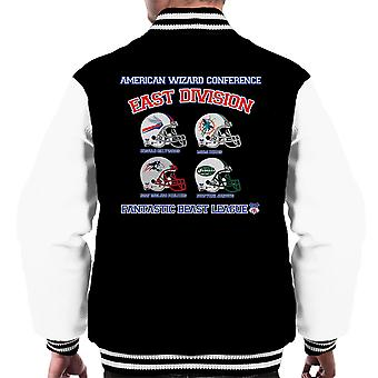 Phantastische Tierwesen League East Division Männer Varsity Jacket