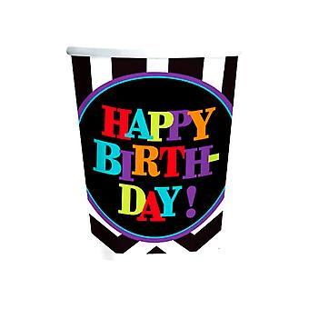 Happy Birthday Chevron Design Cup
