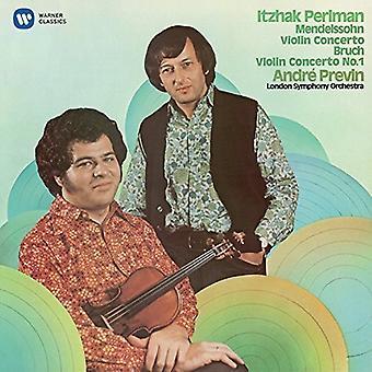 Mendelssohn / Perlman, Itzhak - Violin Concerto No 2 / Bruch: Violin Concerto No 1 [CD] USA import