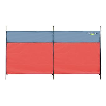 Yellowstone Compact Midi Wind Block Red 300 x 130cm