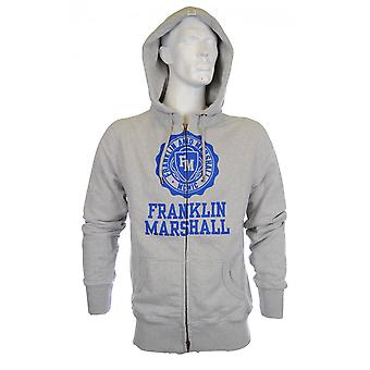 Franklin & Marshall Zip Up Crest Ontario Hoodie