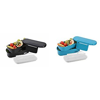 Polar Gear Novo Bento Compartmented Lunch Box With Ice Pack