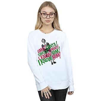 Elf Women's Santa's Coming Sweatshirt
