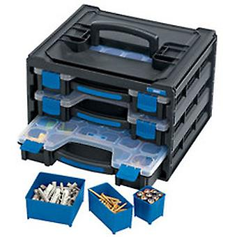 Draper 31239 3 Tray Stacking Organiser Unit