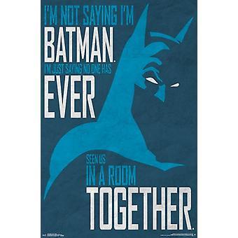 Batman - geheime identiteit Poster Poster afdrukken