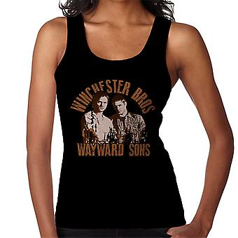Supernatural Winchester Brothers Wayward Sons Women's Vest