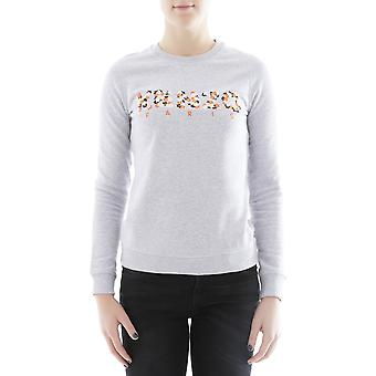 Kenzo women's F852SW72195293 grey cotton Sweatshirt
