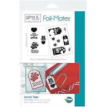 Gina K Designs Foil-Mates Tags 5.5