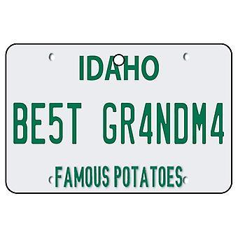 Idaho - Best Grandma License Plate Car Air Freshener