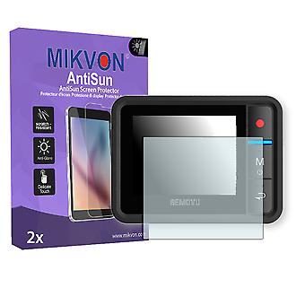 Removu R1 Plus Screen Protector - Mikvon AntiSun (Retail Package with accessories)
