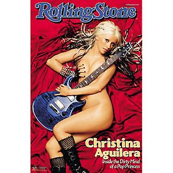 Rolling Stone - Christina Aguilera Poster Print