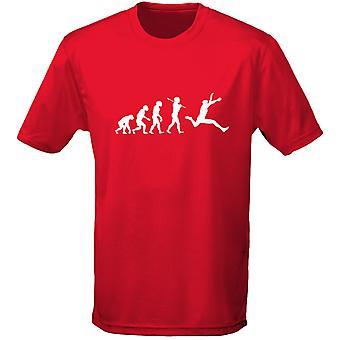 Atletismo evolución Mens t-shirt 10 colores (S-3XL) por swagwear