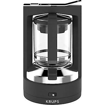 Coffee maker Krups KM468910 Black Cup volume=12 incl. pressure brew unit