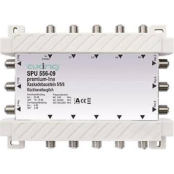 SAT gjennomgripende multiswitch Axing SPU 556-09 innganger (multiswitches): 5 (4 SAT/1 t
