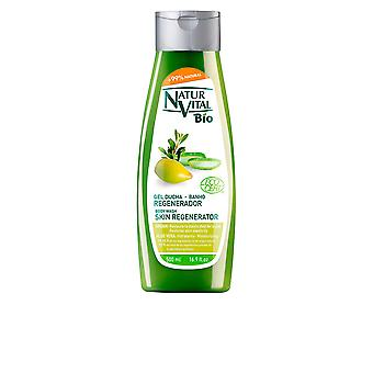 Naturaleza Y Vida Bio Gel Ducha Regenerador Argon And Aloe Vera 500ml Unisex New