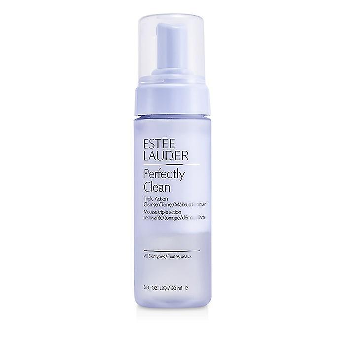 Remover Estee 5oz CleanserTonerMakeup Perfectly action Triple Lauder Clean 150ml uOXZiPTk