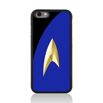 Call Candy Apple iPhone 7 Film Collection Trekki Uniform 2D Printed Case-Blue