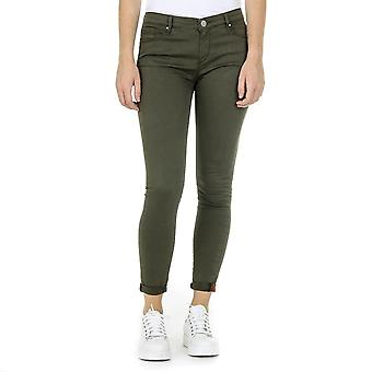 Andrew Charles Womens Trousers Green Claire