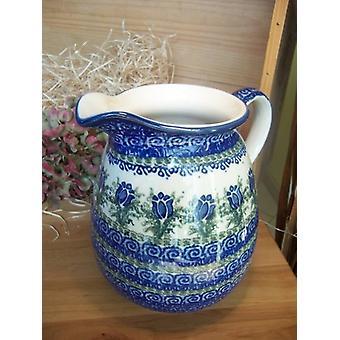 Krug, 2000 ml, Höhe 18 cm, Unikat 7 polonaise poterie - Keramikgeschirr, BSN 1790