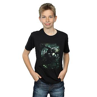 Marvel drenge sort panter Jungle løbe T-Shirt