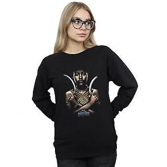 Marvel Women's Black Panther Nakia Poster Sweatshirt
