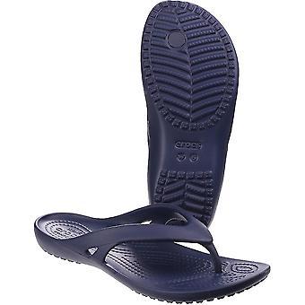 Mujeres/damas de Crocs Kadee II ligero moldeado espuma Flip Flop sandalias