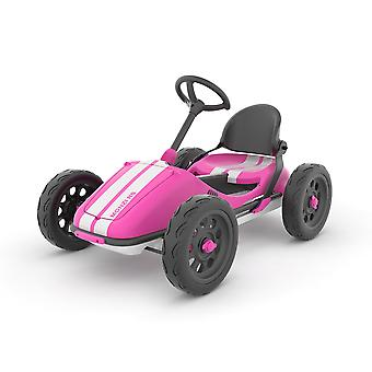 Chillafish Monzi-RS Foldable Pedal Go Kart Pink Ages 3-7 Years