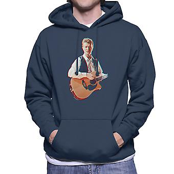 David Bowie At Birmingham NEC 1990 3D Effect Men's Hooded Sweatshirt