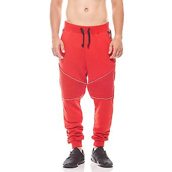 CARISMA ripped men's sweatpants red Jogger