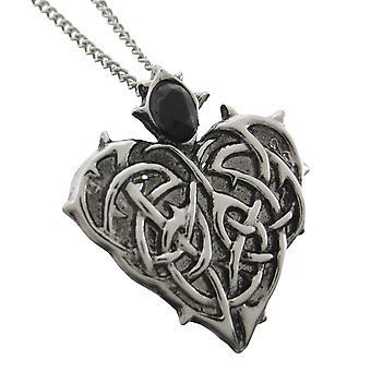 PIGGETE hjertet evig kjærlighet anheng / halskjede