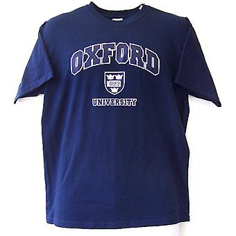 Universität Oxford-T-Shirt mit Schild