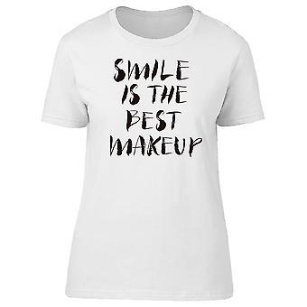 Smile Is: The Best Makeup Tee Men's -Image by Shutterstock
