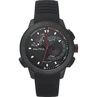 Nautica mens watch watch Chrono NAPCPT003 silicone