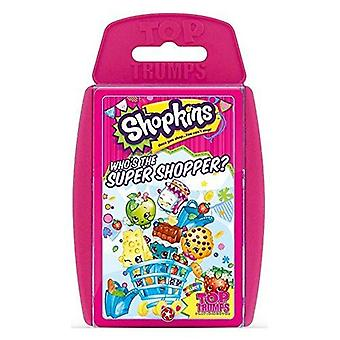 Shopkins Top Trumps Kartenspiel
