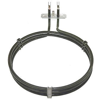 Electrolux substituição ventilador forno panela de aquecimento elemento (2000w) (3 voltas)