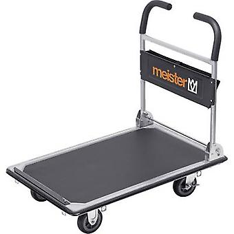 Flatbed trolley folding, + compartment Steel Load capacity (max.): 300 kg Meister Werkzeuge 8985630