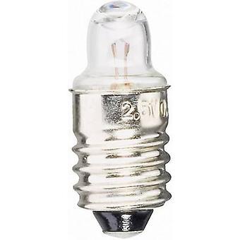 Barthelme 00633730 Torch bulb 3.70 V 1.11 W Base E10 Clear 1 pc(s)