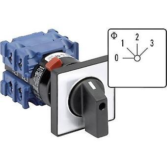 Kraus & Naimer CH10 A261-600 FT2-Uniselector 20 a 3 x 40 ° grå, svart 1 eller flere PCer