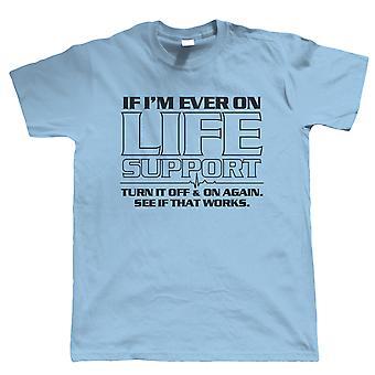 Livet støtte, Mens Funny T skjorte