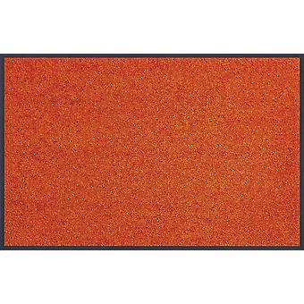 lavar + secar tendencia color naranja quemado lavable alfombra