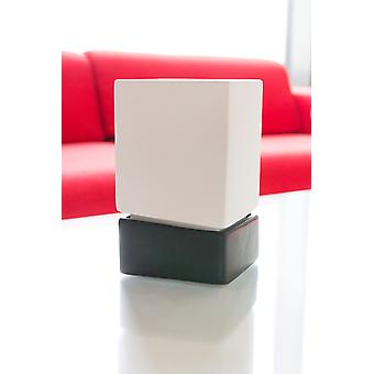 Anthracite modern look white 2 piece air humidifier cube