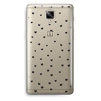 OnePlus 3T Transparent Case (Soft) - Little cats