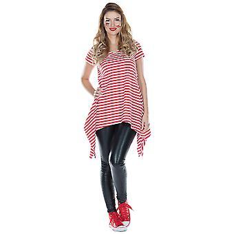 Striped tunic Womens costume poncho striped costume